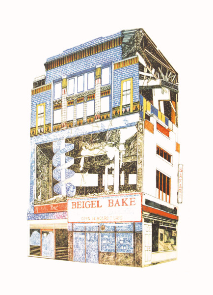 Lucille Clerc - Hackney Derelict - Beigel Shop