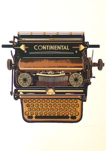 Simon-Fitzmaurice-Continental-Typewriter