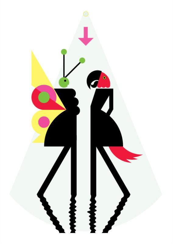 Talk Talk Bugs Clifford Richards Print Club London