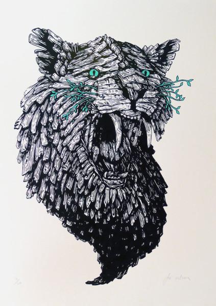 Joe-Wilson-Wooden-Cat