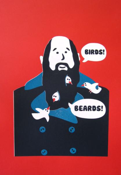 Giulio Miglietta - Birds! Beards!