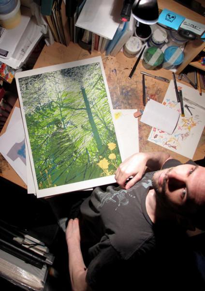 Dark Branches By Chris Keegan Print Club London