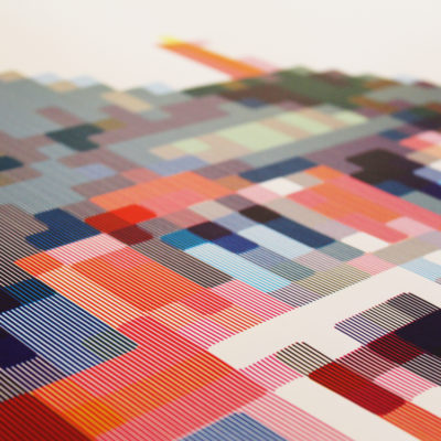 Atelier Deux Mille House Pixel Icon House Print Club London
