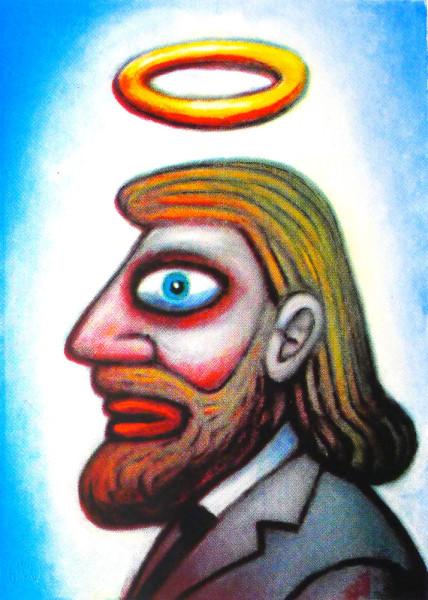 Self Portratrait, Reg Mombassa