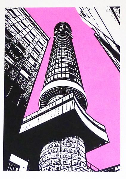 Nigel-Kent-BT-Tower-(pink sky)