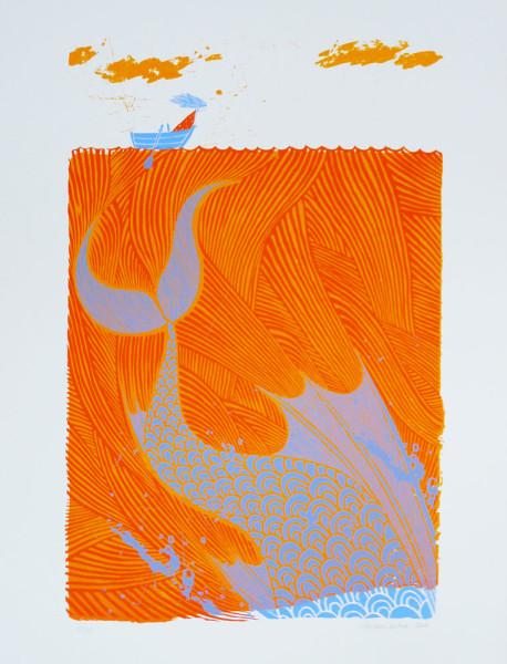 the-sea-monster-orange