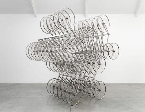 Ai Weiwei – bicycles