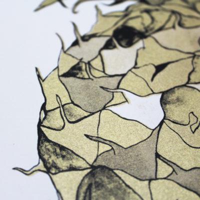 Andy MacGregor Nanus Gold Print Club London