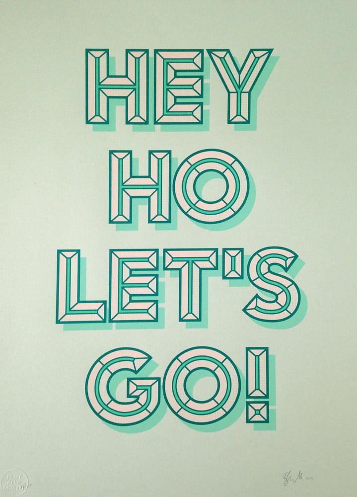 The Ramones/Let's Go! - Barry Leonard