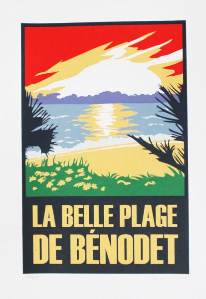 Louise Kyme - La Belle plage de Benodet