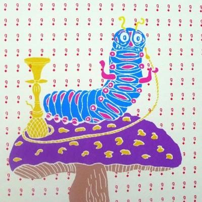Liz Whiteman Smith – Alice in Wonderland: The Caterpillar