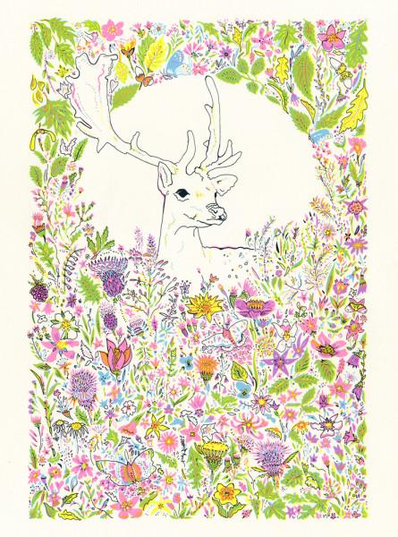 floral_deer_web