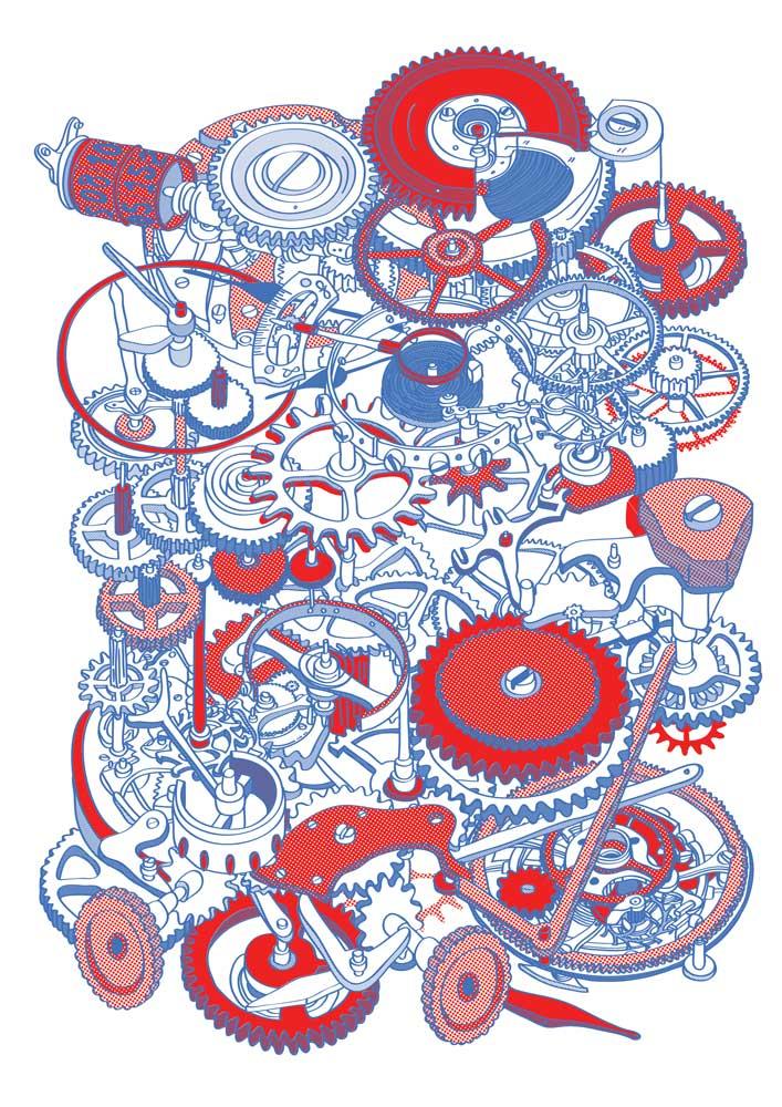 Hugo-Yoshikawa-Watch-Mechanism #1 (red)