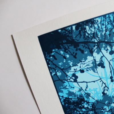 Chris Keegan – Gap in the- Forest Print-Club-London-Screen-Print
