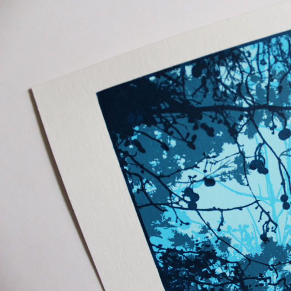 Chris Keegan – Gap in the- Forest Print-Club-London-Screen-Print