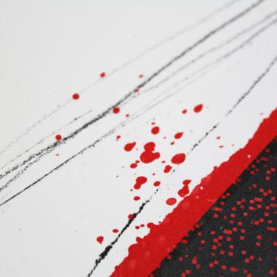Caroline Tomlinson Lips Print Club London