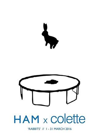 Ham Rabbits Show At Colette Paris