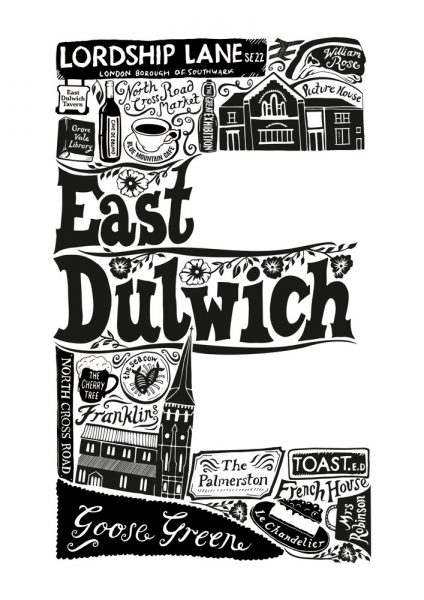 Lucy Loves This Print Club London East Dulwich Screen Print