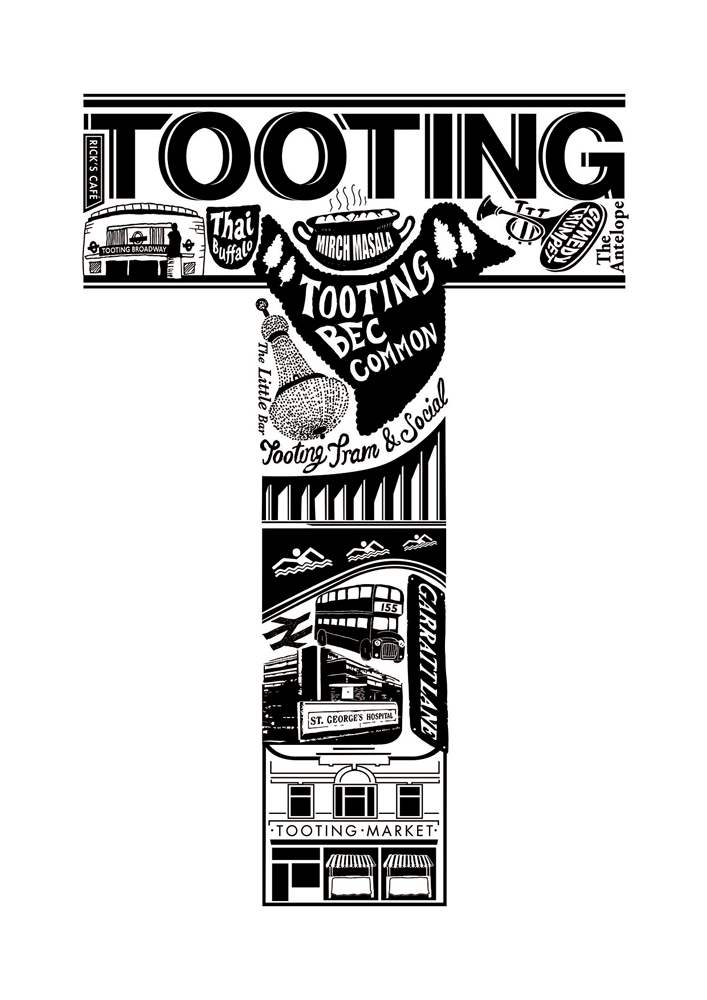 Lucy Loves This Print Club London Tooting Screen Print