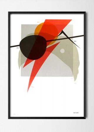 David Bowie Screen Print