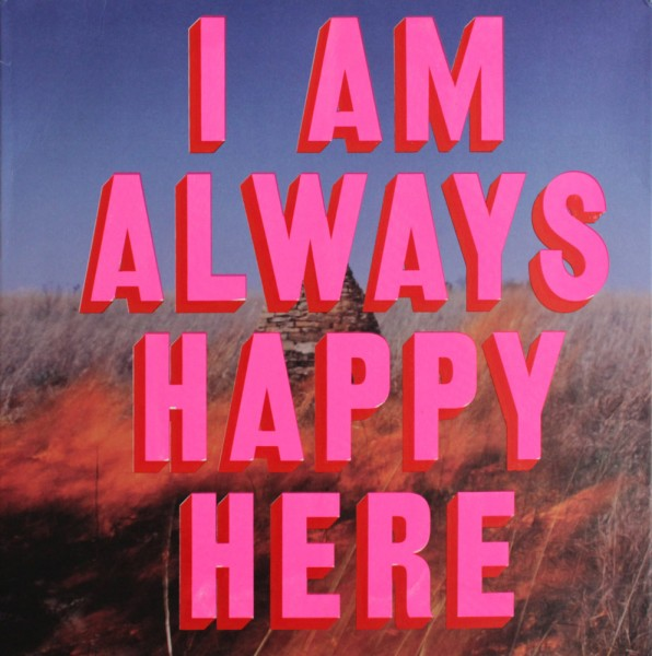 Print Club London Dave Buonaguidi I Am Always Happy Here Screen Print The Maccabees