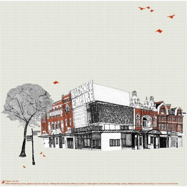 Clare Halifax Hackney Empire Print Club London Screen Print