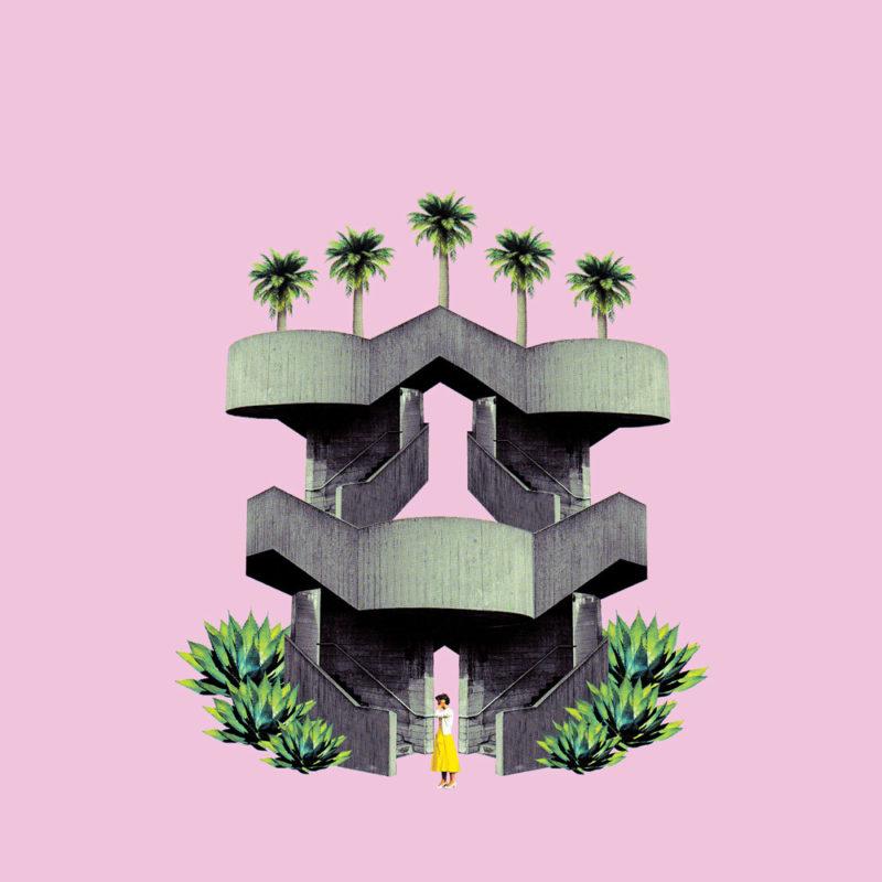 Fei Alexeli Brutal Utopias Print Club London Screen Print