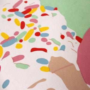 Claudia Borfiga Ice Cream Lick