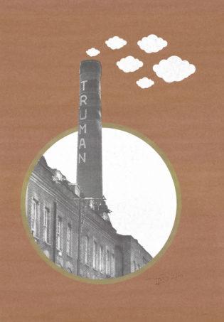 Tirso Sanchez Truman Brewery Recycled Print Club London