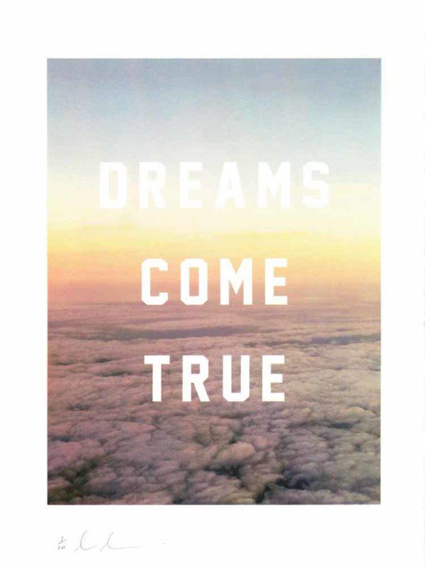 Dreams Come True - Dave Buonaguidi Print Club London Screen Print