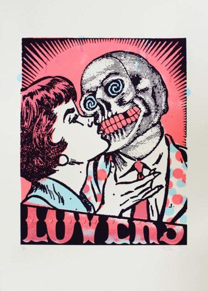 Lovers (Pink) Ben Rider Print Club London