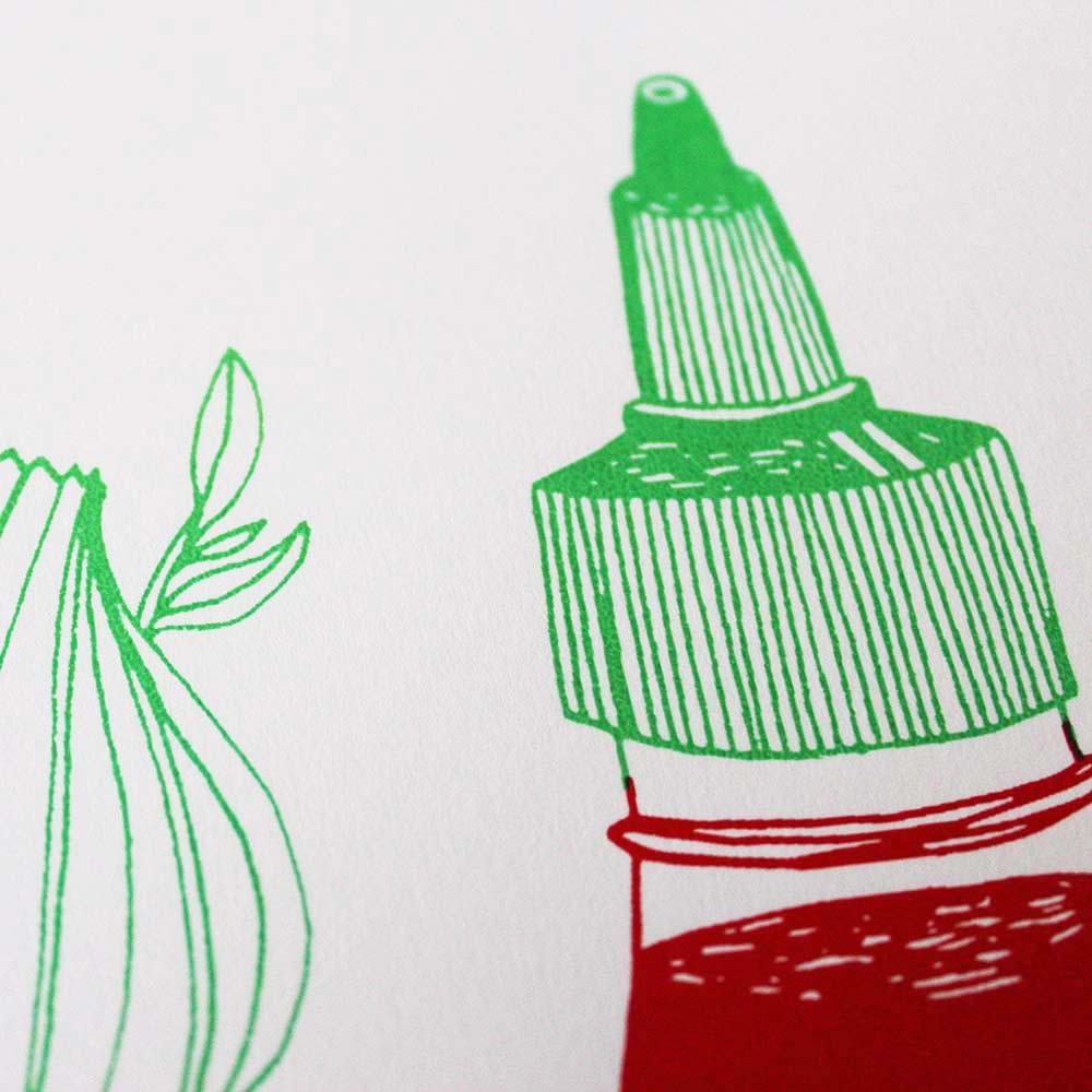 Sriracha Time Aleesha Nandhra Print Club London