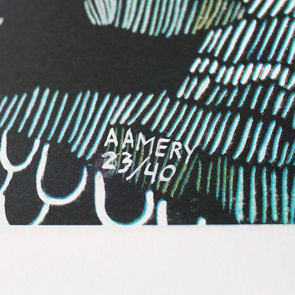 Underwater Ashley Amery Print Club London
