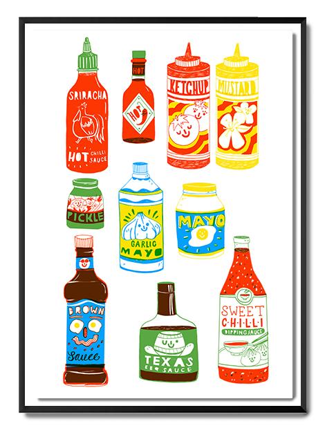 Aleesha - Condiments