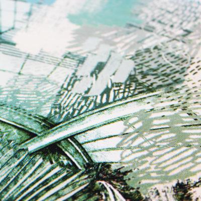 Kew Palms Lucille Clerc Print Club London