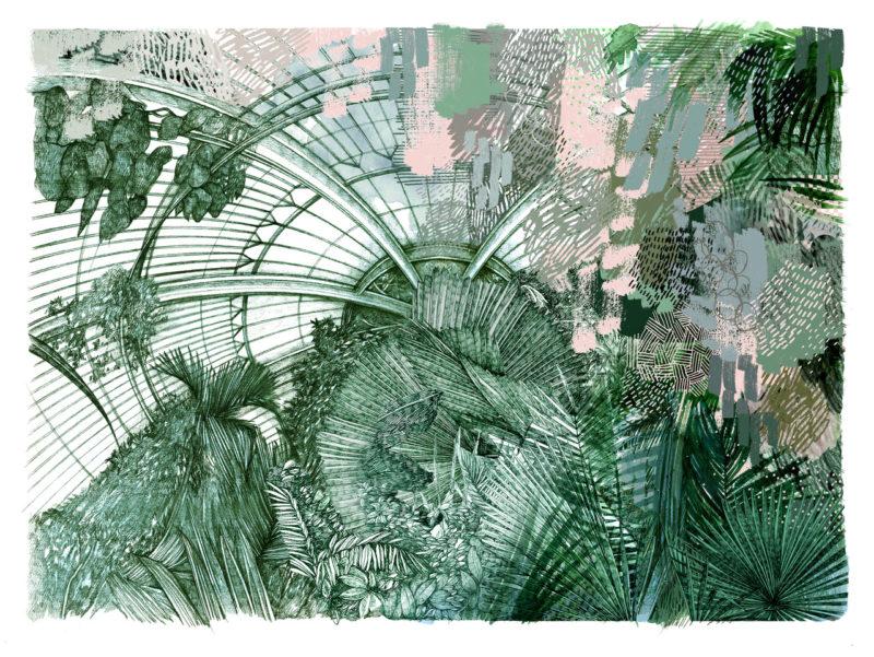 Kew Palms   Print Club London