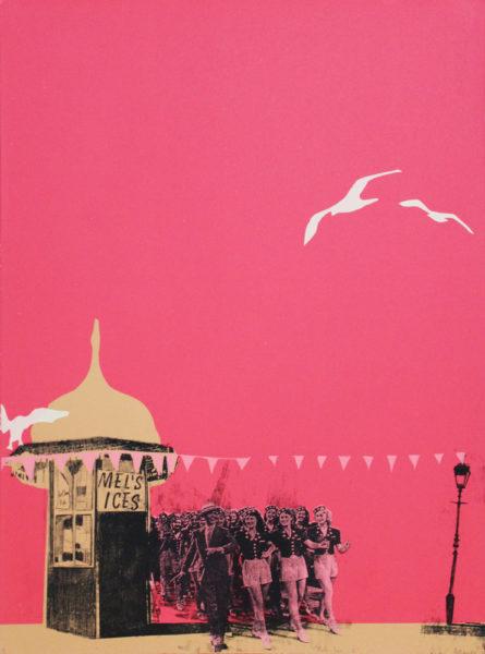 Anna Marrow Mel's Ices 2 Print Club London