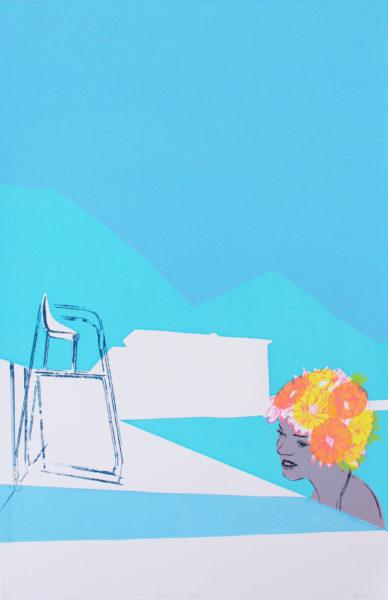 Anna Marrow Mountain Swim Print Club London