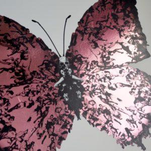 DEliverance pink foil detail 1