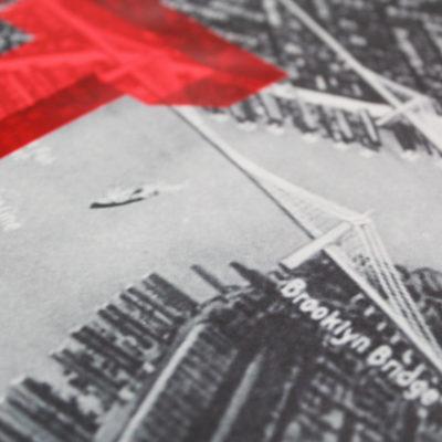Dave Buonaguidi Let's Go Get Lost – NYC Print Club London