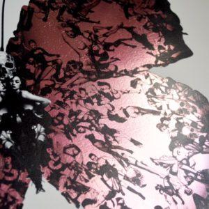 Deliverance pink foil detail 2