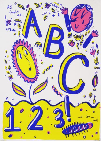 Francesca Tiley As Simple As Print Club London