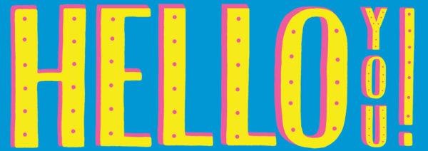 Francesca Tiley Hello You Print Club London