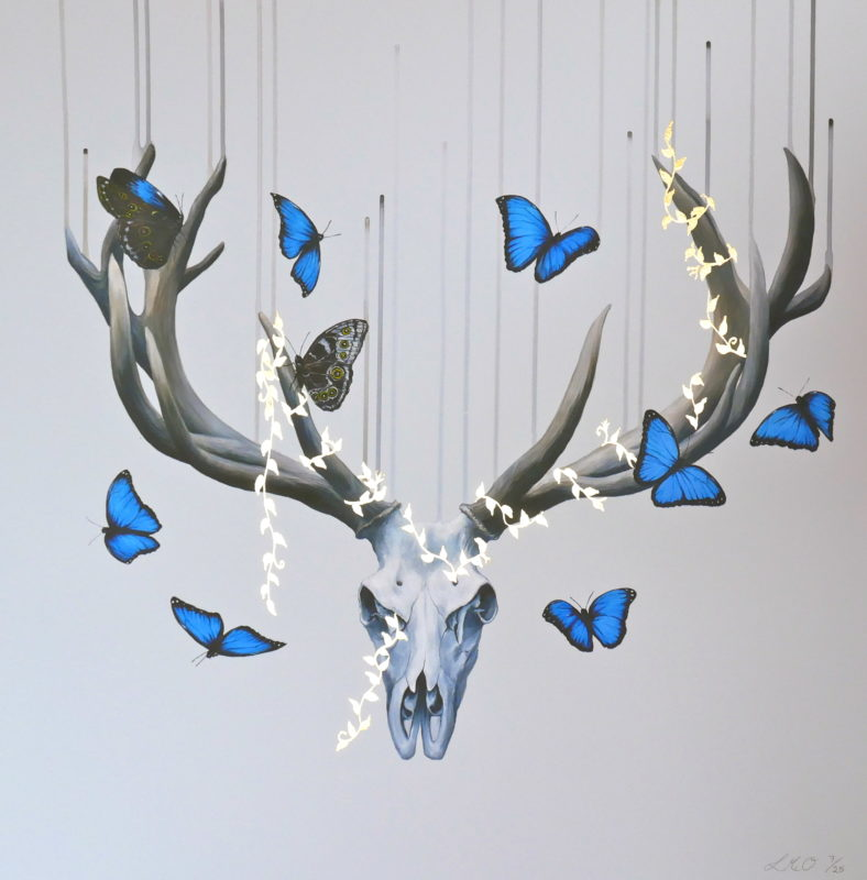 Born to Die Louise McNaught Print Club London Screen Print