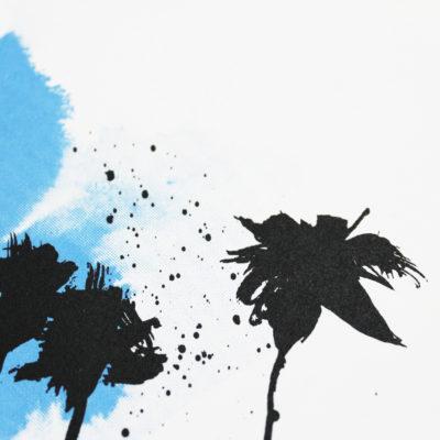 Blue Palms Caroline Tomlinson Print Club London