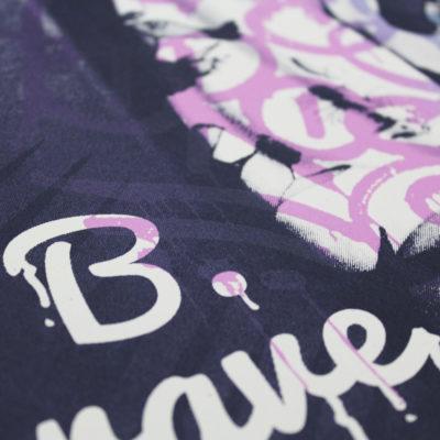 Donk B.Brave Tagged Print Club London