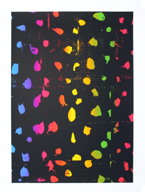 Dots Gfeller & Hellsgard Print Club London Screen Print