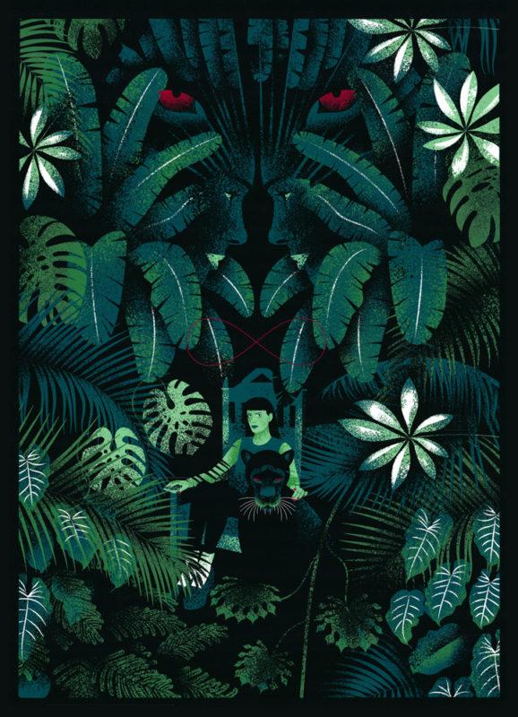 Eve Lloyd Knight Strength Print Club London Screen Print