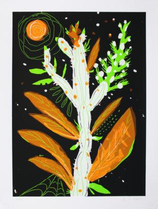 The Orange Cactus Gfeller & Hellsgård Print Club London