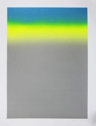 Gradient Blue Gfeller & Hellsgard Print Club London